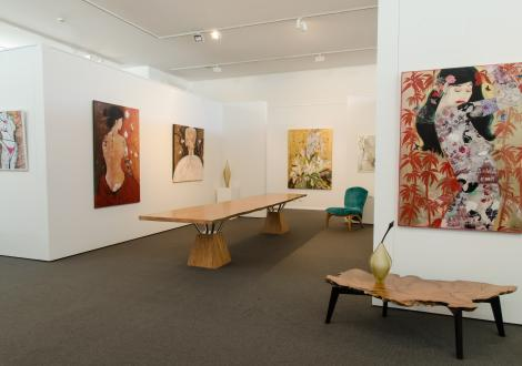 JahRoc Galleries Exhibition Space