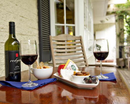 Rosewood Guesthouse Wine & Cheese platter