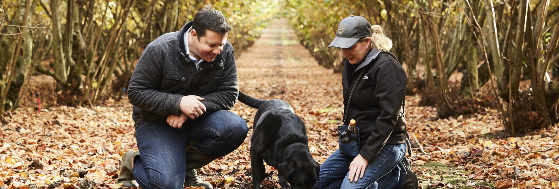 Truffle hunting in Manjimup - Australias South West