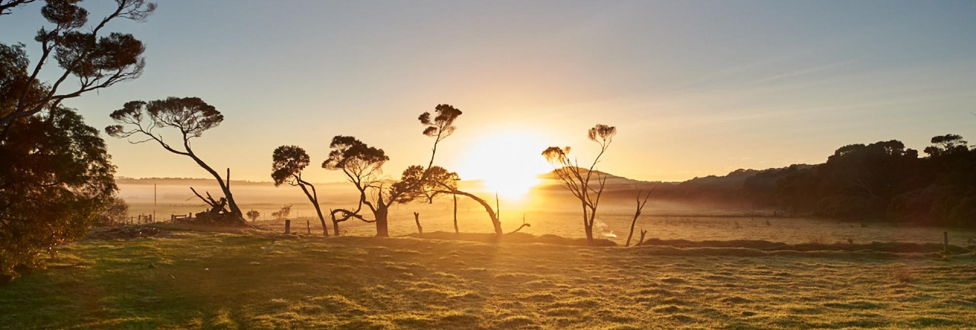 Sunrise, Denmark, Australia's South Wes